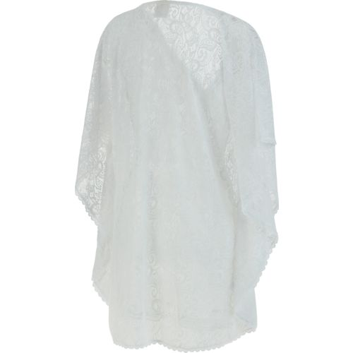 O'Rageous Women's Lace Poncho Cover-Up - view number 2