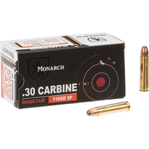 Monarch® .30 Carbine SP 110-Grain Ammunition