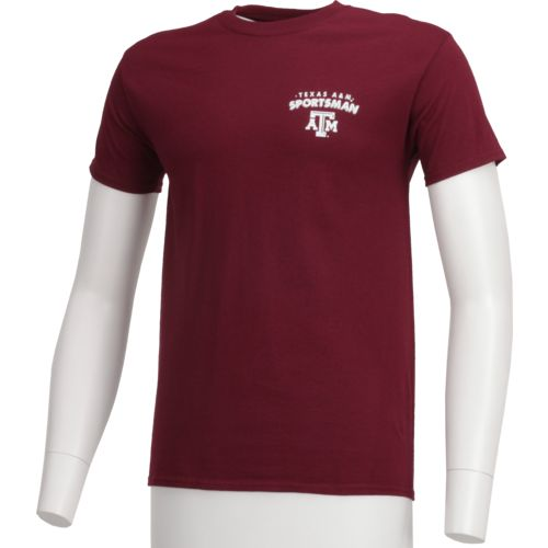 New World Graphics Men's Texas A&M University Open Season Deer T-shirt