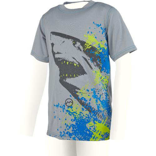 Magellan Outdoors Boys' Reflective Shark Graphic T-shirt