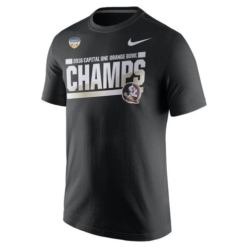 Nike Men's Florida State University 2017 Orange Bowl Champions Locker Room T-shirt