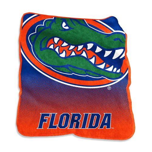 Logo University of Florida 50 in x 60 in Raschel Throw