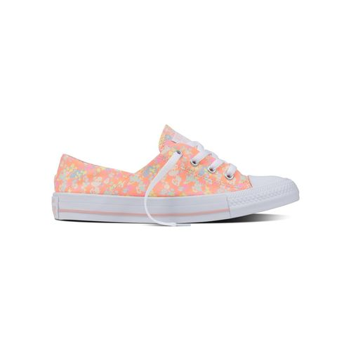 Converse Women's Chuck Taylor All Star Coral Low Slip-On Shoes