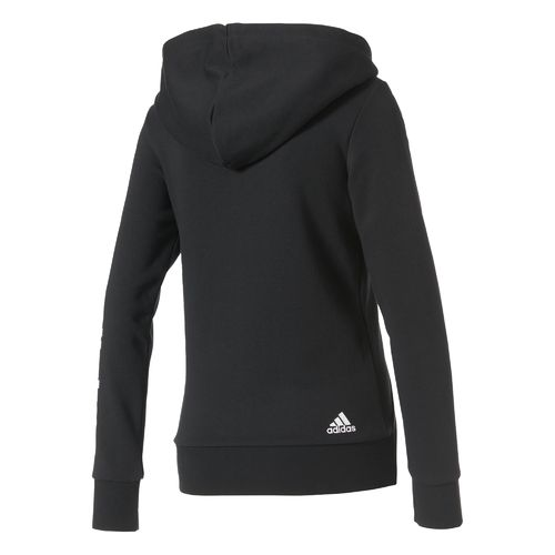 adidas Women's Essentials Linear Full Zip Hoodie - view number 2