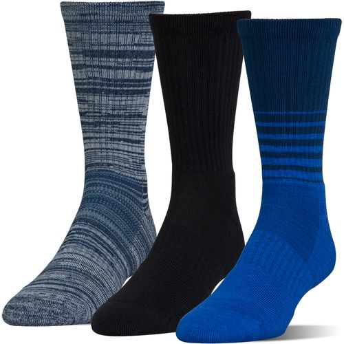 Under Armour Men's Phenom Twisted Crew Socks 3 Pairs