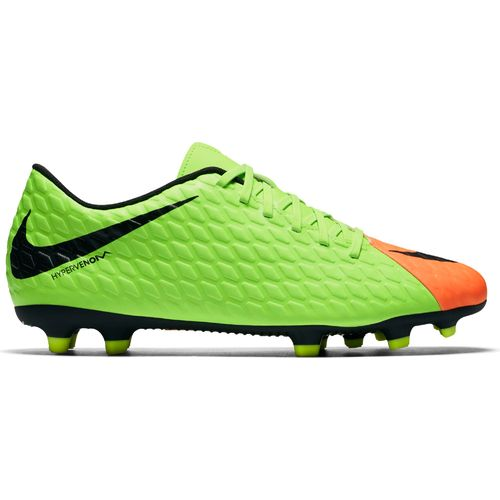 Nike Men\u0027s Hypervenom Phade III Firm Ground Soccer Cleats