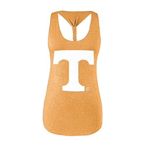 Chicka-d Women's University of Tennessee Braided Tank Top