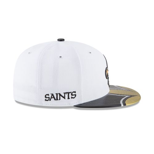 New Era Men's New Orleans Saints 59FIFTY NFL17 Official On Stage Cap - view number 6