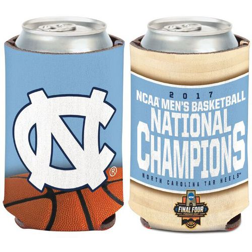 WinCraft University of North Carolina 2017 NCAA Men's Basketball National Champions Can Cooler