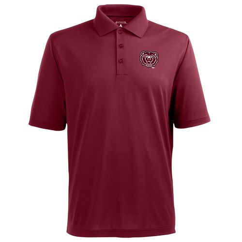 Antigua Men's Missouri State University Pique Xtra-Lite Polo Shirt