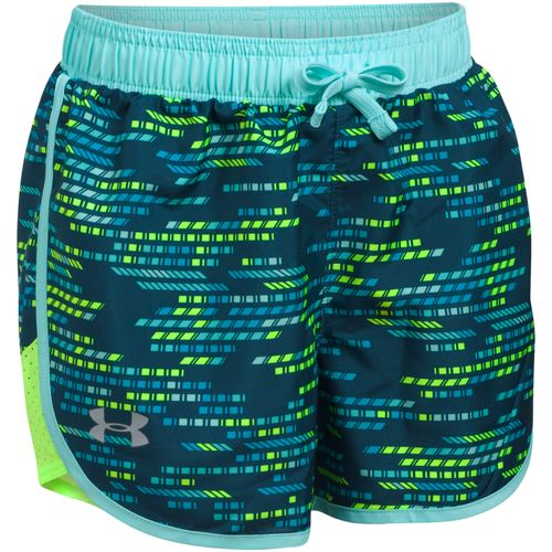 Under Armour Girls' Fast Lane Novelty Short
