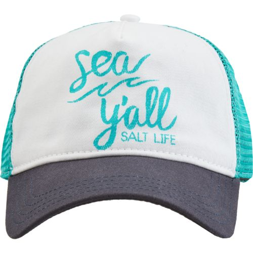 Salt Life Women's Sea Y'all Trucker Hat