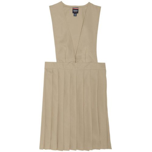 French Toast Girls' V-neck Pleated Uniform Jumper - view number 1