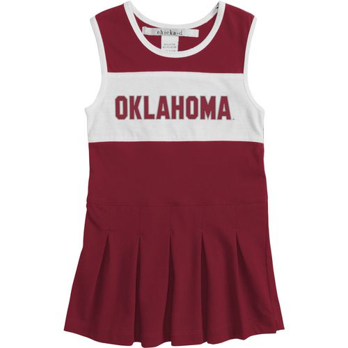 Chicka-d Girls' University of Oklahoma Cheerleader Dress