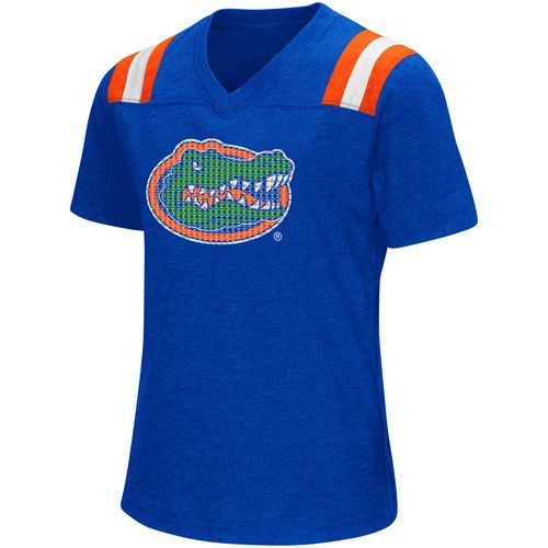 Colosseum Athletics Girls' University of Florida Rugby Short Sleeve T-shirt - view number 1