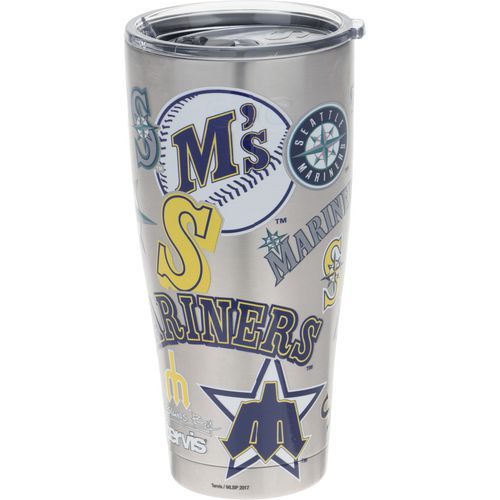Tervis Seattle Mariners All Over 30 oz Stainless-Steel Tumbler