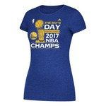 adidas Women's Golden State Warriors 2017 NBA Finals Championship Parade T-shirt - view number 1