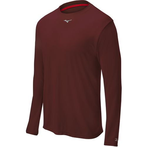 Mizuno Youth Comp Long Sleeve Baseball Crew Shirt