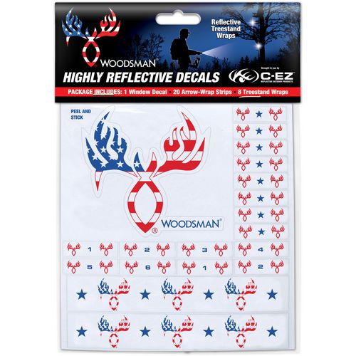 C-EZ Woodsman Highly Reflective Arrow and Treestand Wraps - view number 1