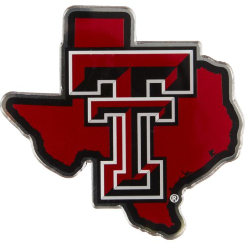 Stockdale Texas Tech University Metallic State Auto Emblem