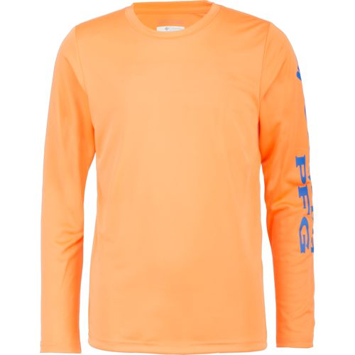 Display product reviews for Columbia Sportswear Boys' PFG Terminal Tackle Long Sleeve T-shirt
