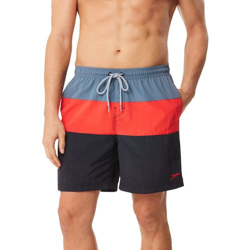 Speedo Men's Colorblock Volley Swim Trunk