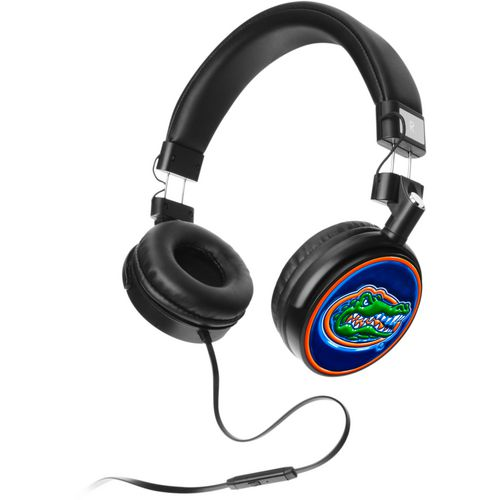 Mizco University of Florida 4D Logo Headphones