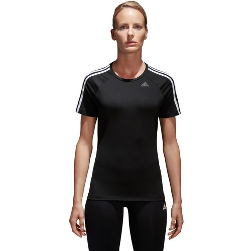 adidas Women's D2M 3-Stripes T-shirt - view number 1