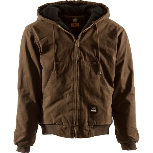 Berne Men's Original Washed Hooded Jacket