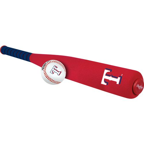 Rawlings Texas Rangers Softee Mini Bat and Ball Set