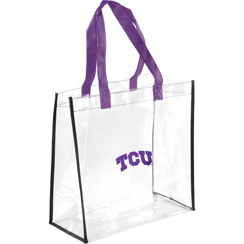 Forever Collectibles Texas Christian University Clear Reusable Bag