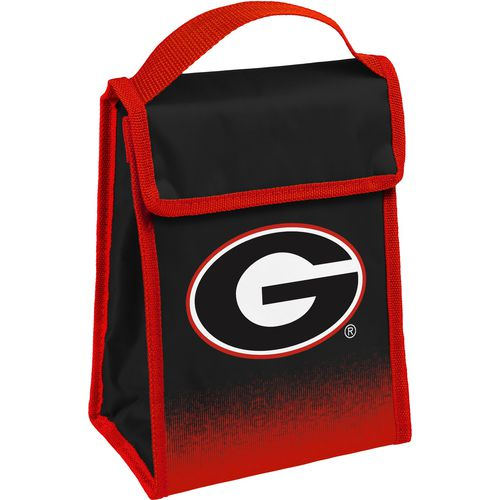 Forever Collectibles Georgia Bulldogs Gradient Hook-and-Loop Lunch Bag