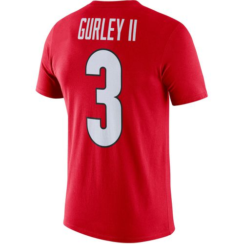 Nike Men's University of Georgia Todd Gurley II 3 T-shirt
