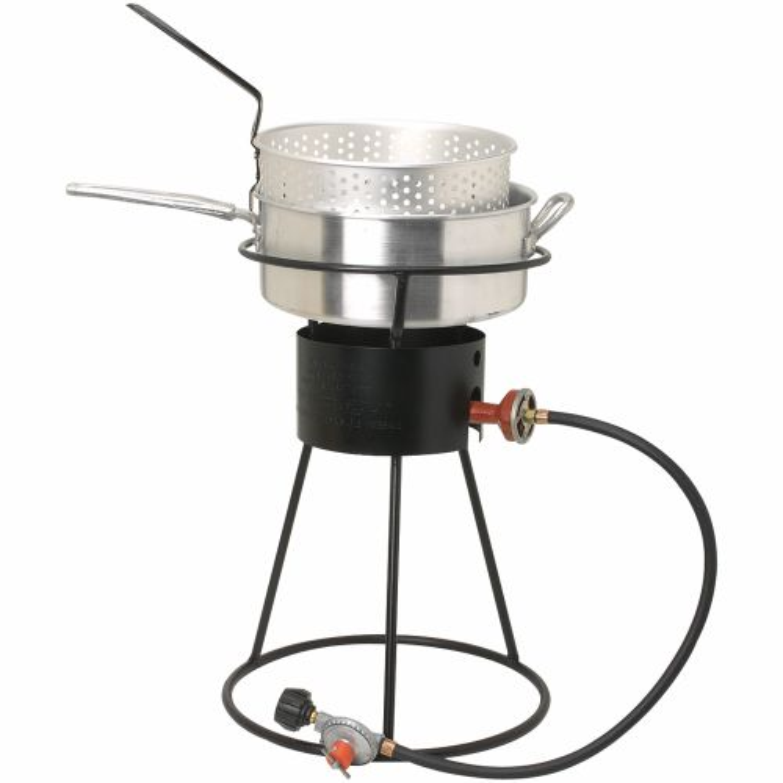 King kooker outdoor propane deep fryer for Outdoor fish fryers propane