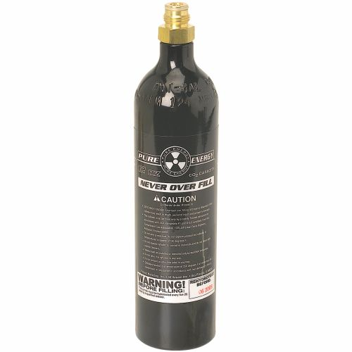 Image for Extreme Rage PMI Pure Energy 12 oz. CO₂ Cylinder with Pin Valve from Academy