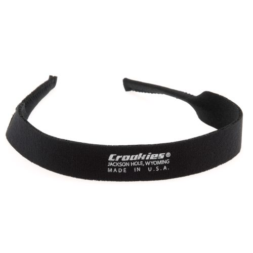 Image for Croakies® Basic Black Eyewear Retainer from Academy