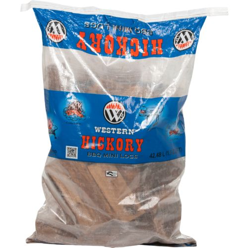 Western Hickory Barbecue Mini Logs