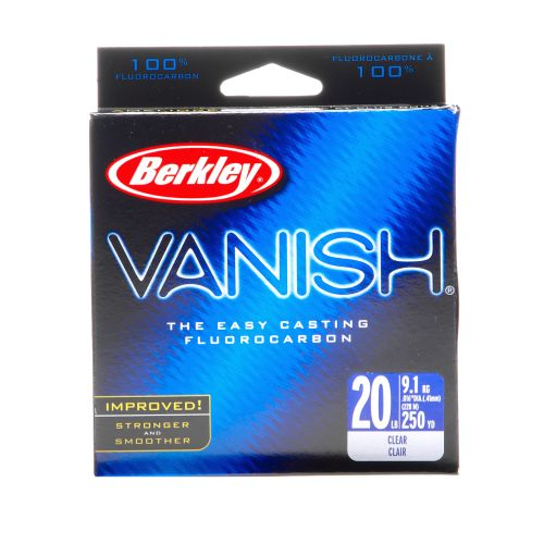 Display product reviews for Berkley® Vanish® 250-Yard Fishing Line
