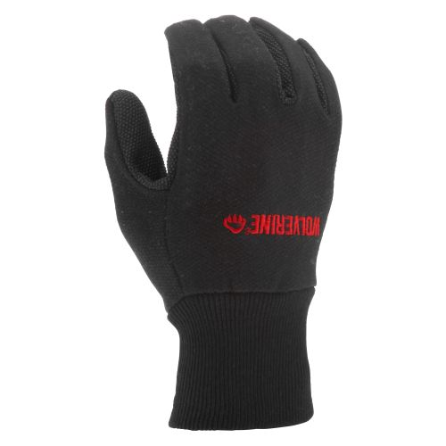 Wolverine Men's Black Dot Jersey  Work Gloves