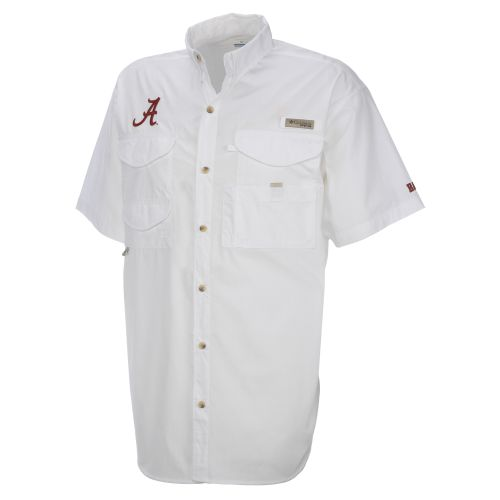 Columbia Sportswear Men's Collegiate Bonehead™ University of Alabama Shirt