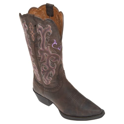 Justin Girls' Stampede™ Cowboy Boots - view number 2