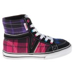 Vans Girls' Corrie Vulcanized High-Top Athletic Lifestyle Shoes