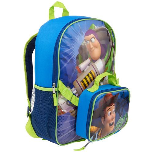 Disney Kids' Toy Story Backpack with Lunch Kit
