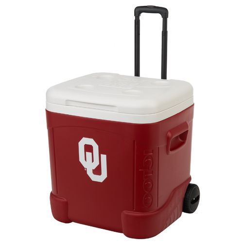 Igloo University of Oklahoma Ice Cube™ 60 qt. Roller Cooler