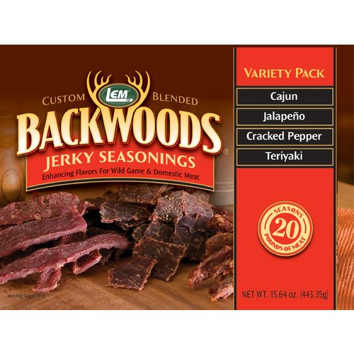 Display product reviews for LEM Backwoods Jerky Seasoning Variety Pack