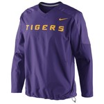 Nike Men's Louisiana State University Pullover Wind Jacket