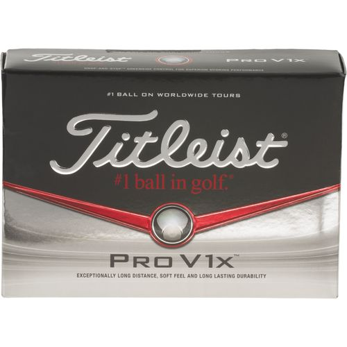 Image for Titleist Prior Generation ProV1x™ Golf Balls 12-Pack from Academy