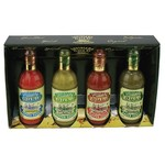 Louisiana Gold Pepper Sauces 4-Pack