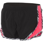 Soffe Girls' Print Zebra Pipe Shorty Short