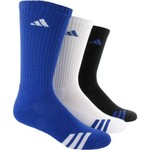 adidas Kids' Striped Crew Socks 3-Pack